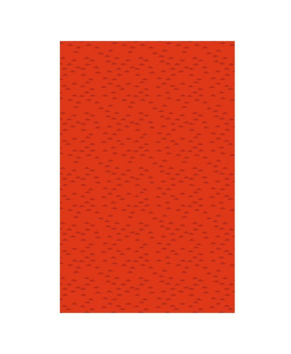 Laudlina 80x80 Waves red