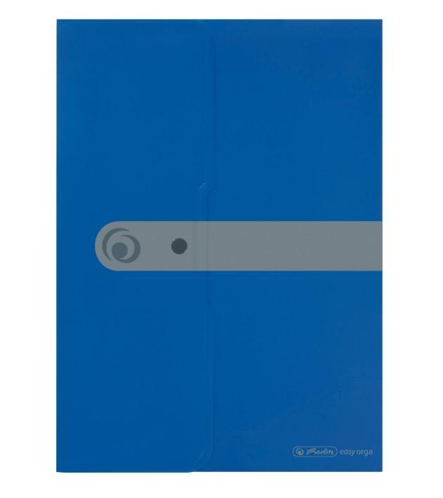 Kirjaümbrik trukiga A4 Easy Orga sinine