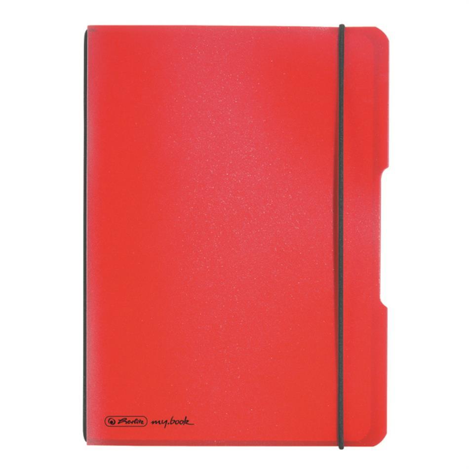 Kaustik flex A5/40 ruut punane