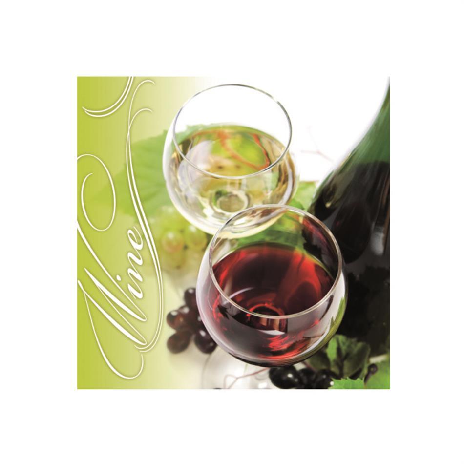 Salvrätik 33x33/20 Wine