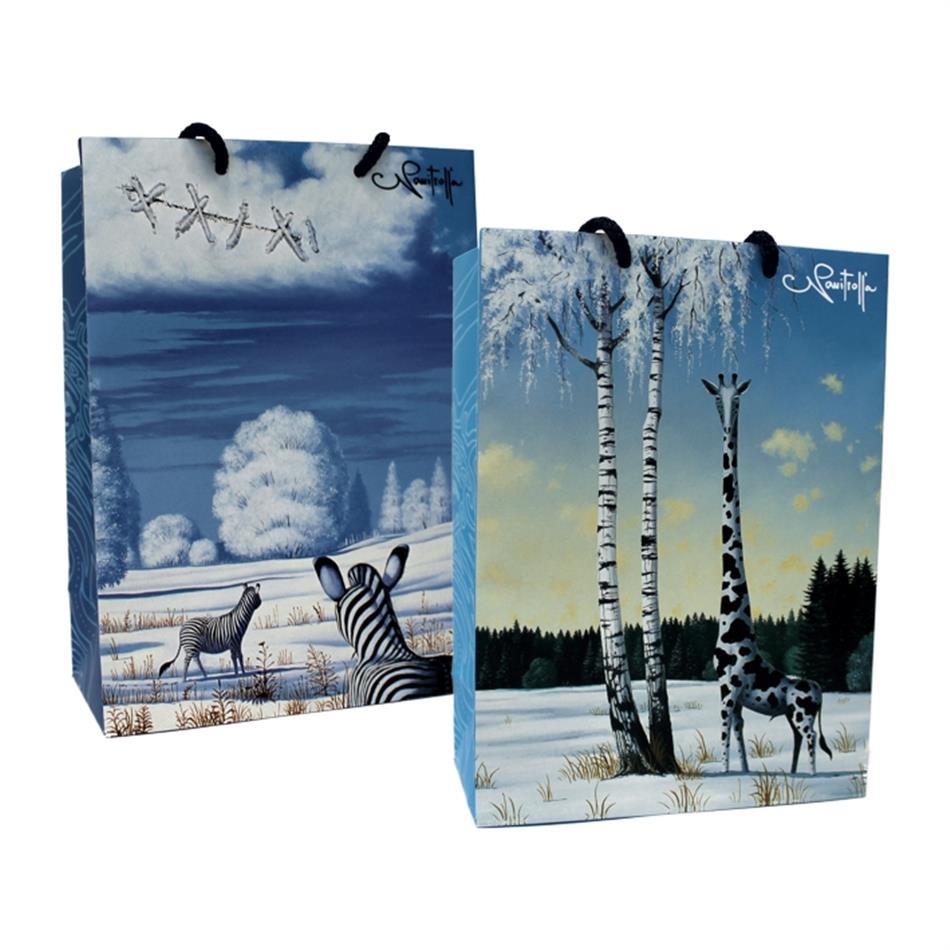 Kinkekott jõulud 16x22x8 Navitrolla talv
