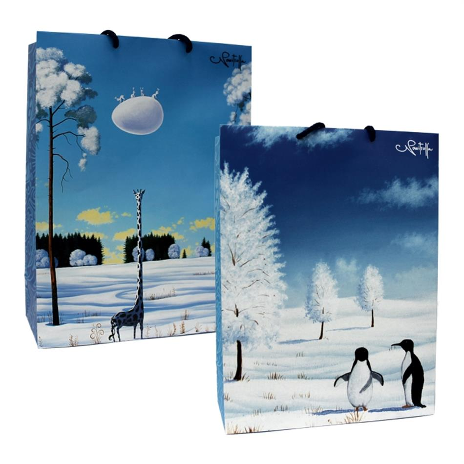 Kinkekott jõulud 24x32x10 Navi