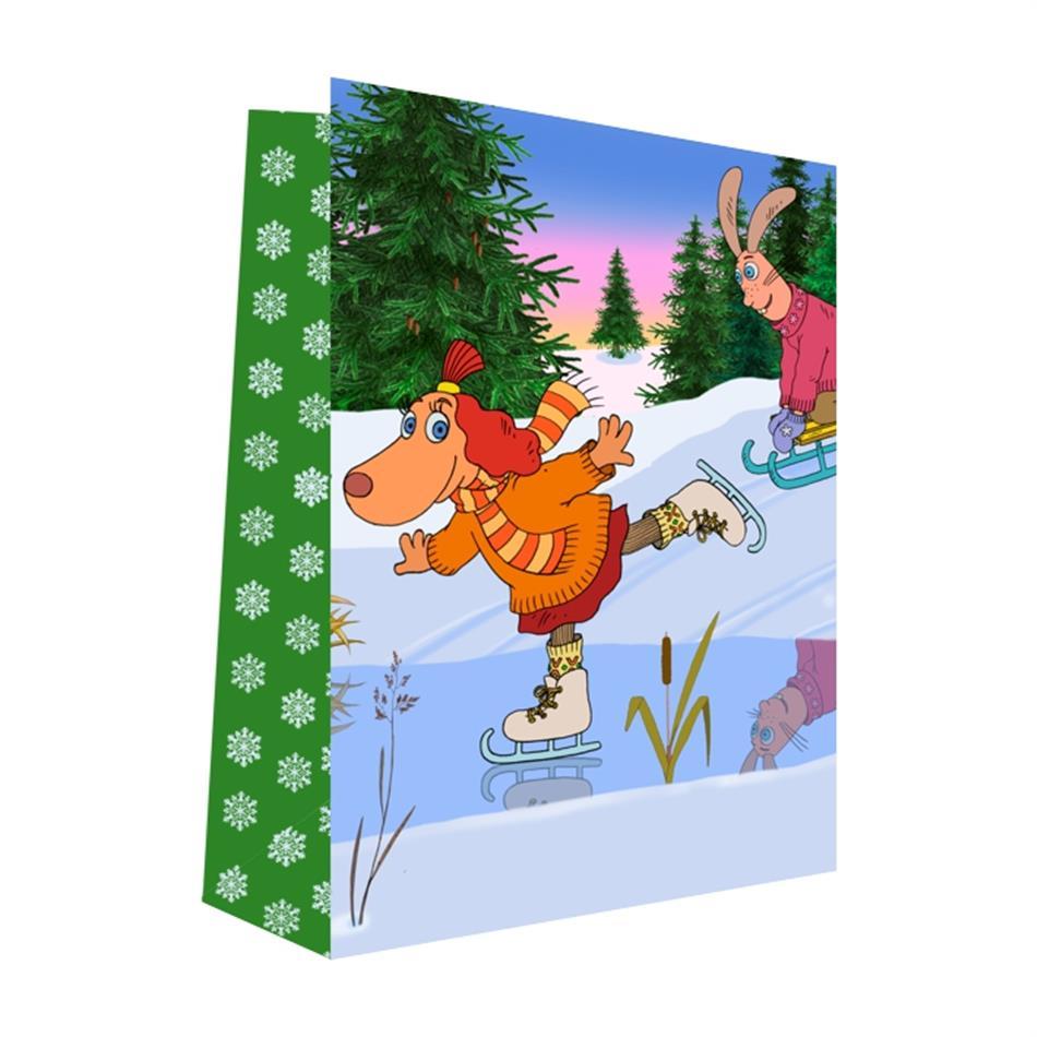 Kinkekott jõulud 16x22x8 Lotte