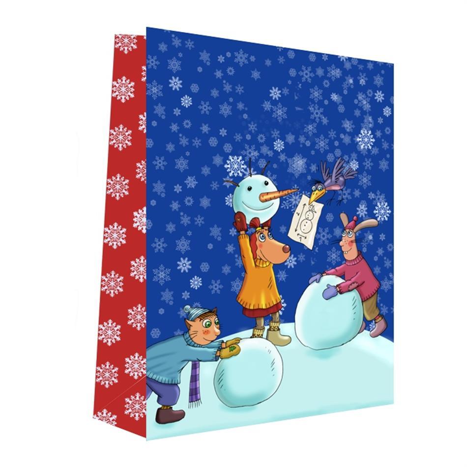 Kinkekott jõulud 32x40x12 Lotte 15-16