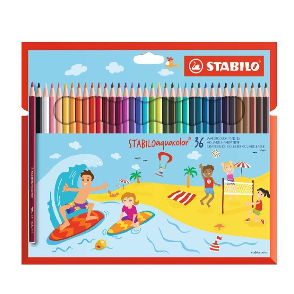 Värvipliiats 36 värvi  Stabilo  Aquacolor