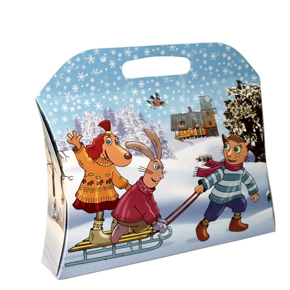 Kinkekarp jõulud 33x27x8 Lotte talv