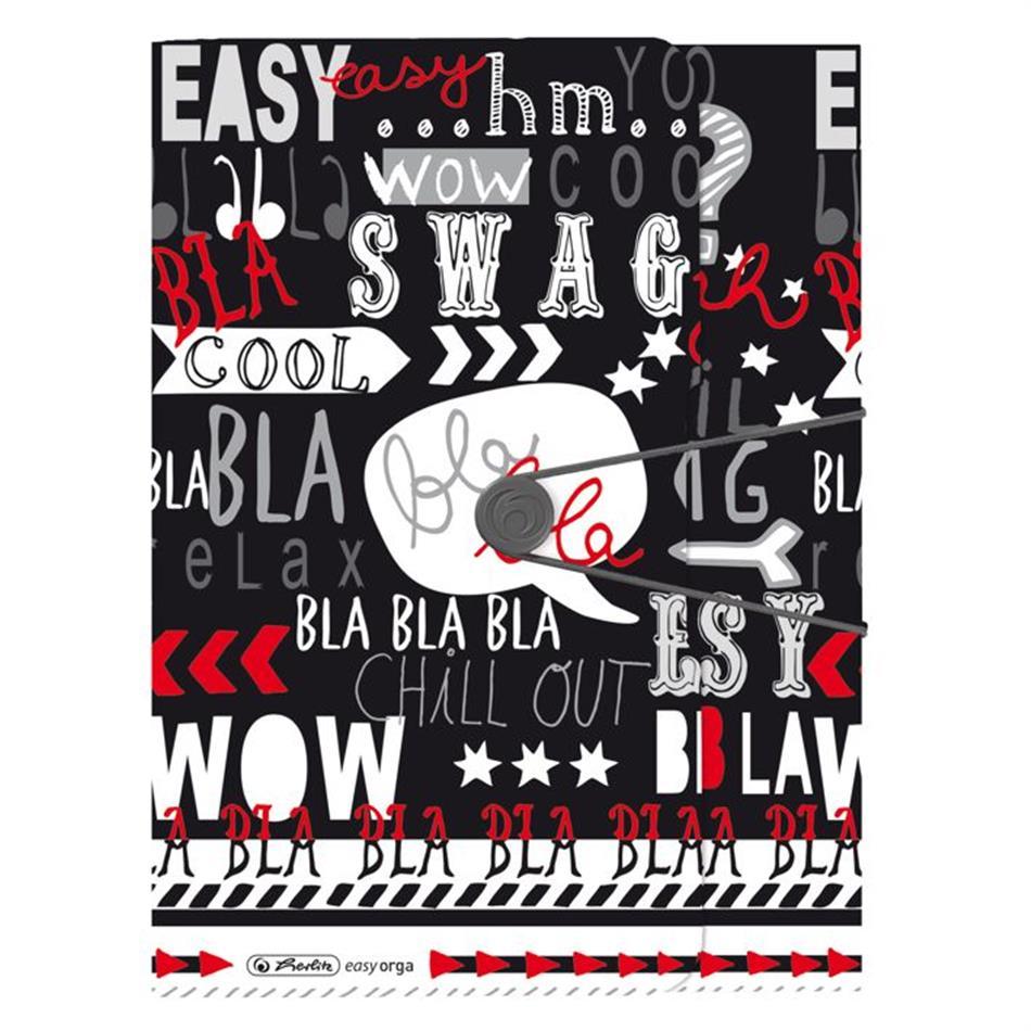Kummiga kaaned A4 pl. B&wow Slogan