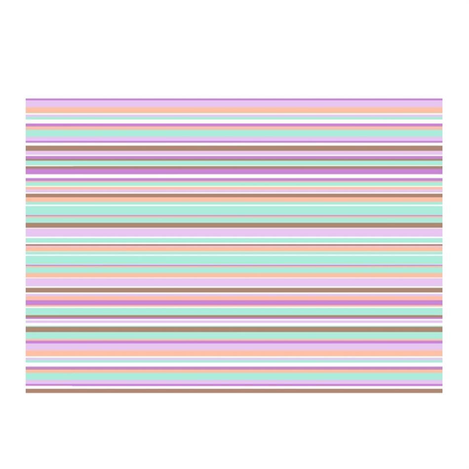 Pakkepaber 2m x 70 cm Pastel stripes