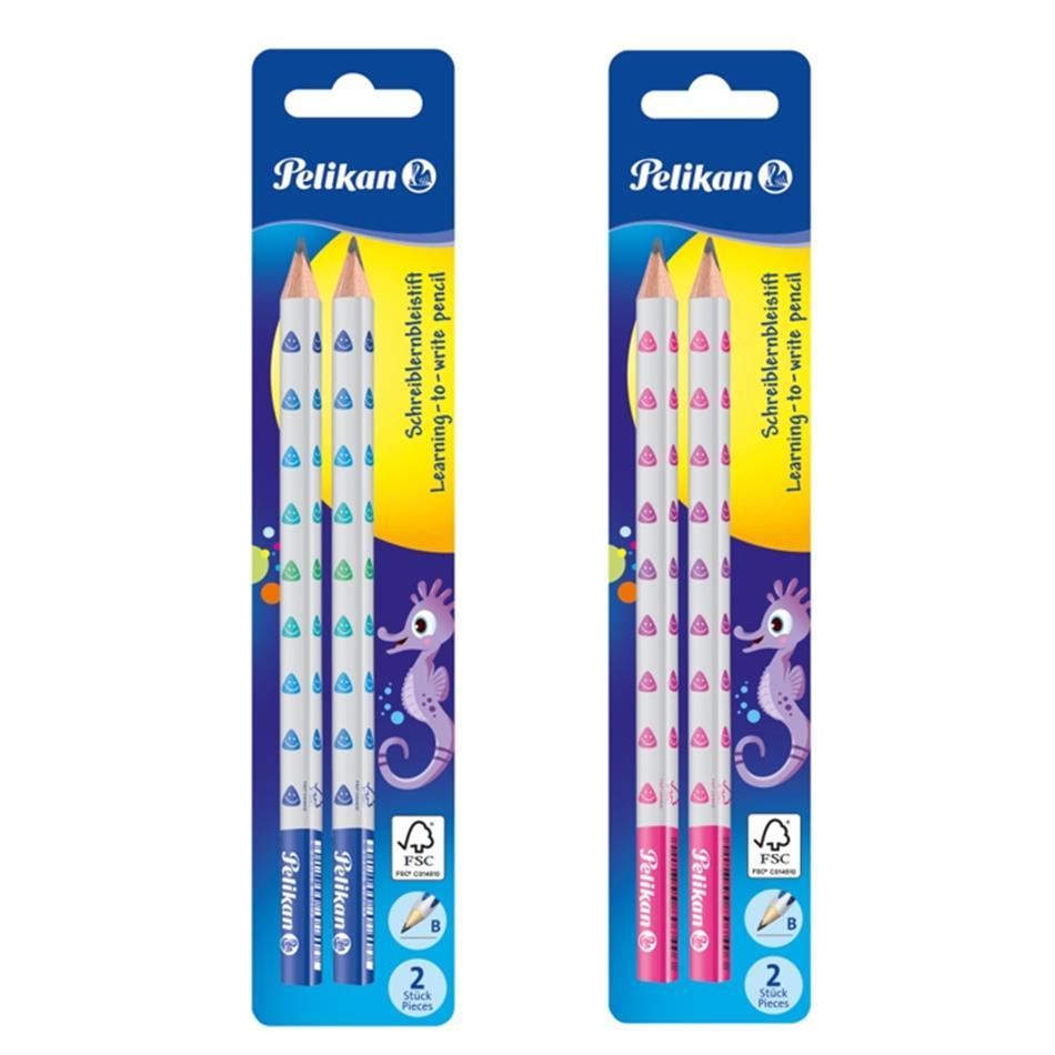 Harilik pliiats Pelikan B 2tk (bl) jäme sinine v..