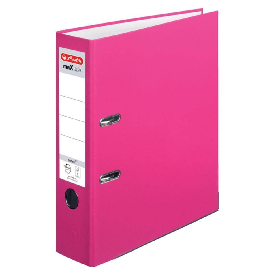 Registraator 8 cm Color Block indon.roosa