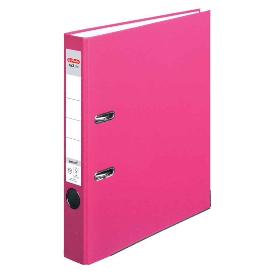 Registraator 5 cm Color Block indon. roosa
