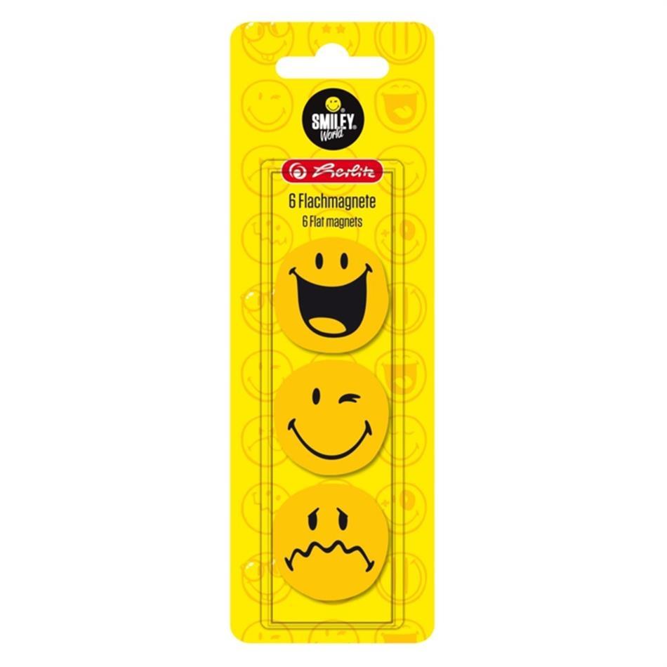 Magnetid Smiley 6tk