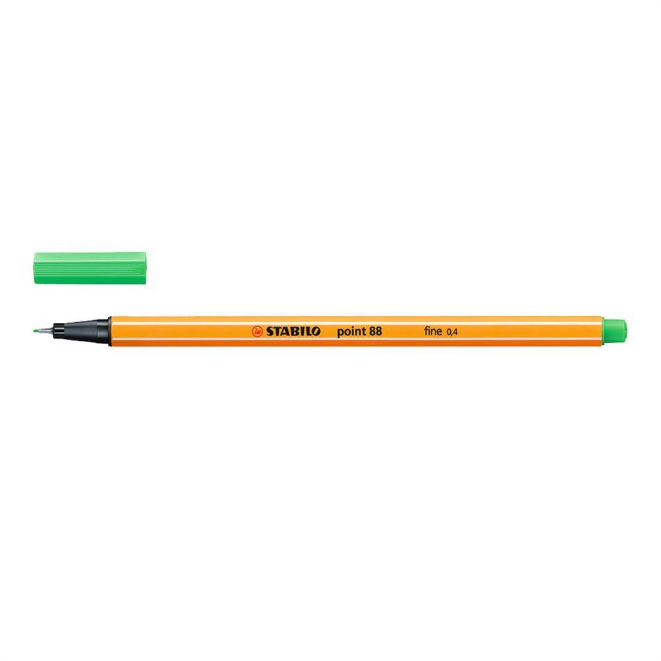 Tindipliiats Stabilo point 88-16 smaragd hele