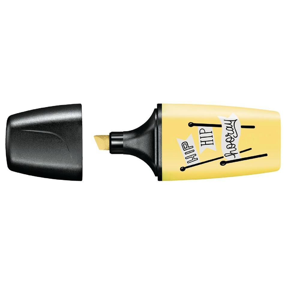 Tekstimarker Stabilo Boss Mini, pastelne kollane
