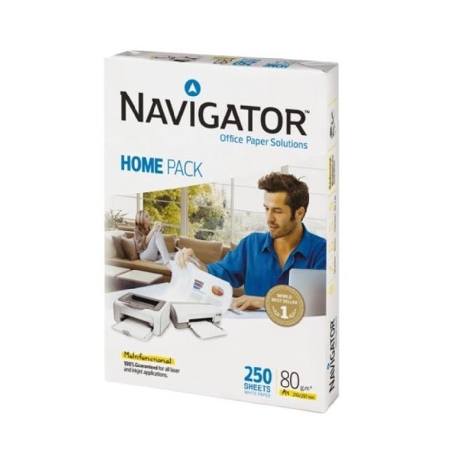 Koopiapaber A4 80g Navigator Home 250 lehte pakis