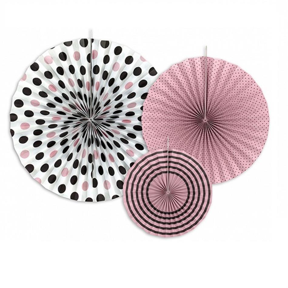 Dekoratiivsed rosetid 3tk 40/32/23cm
