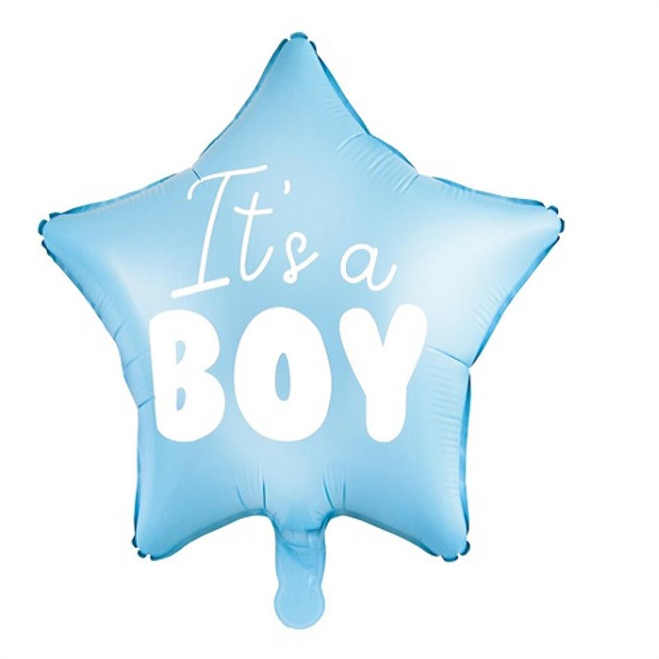 Fooliumist õhupall It's a Boy helesinine 48cm