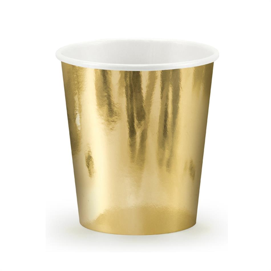 Tops kartongist 6 tk 180ml kuld