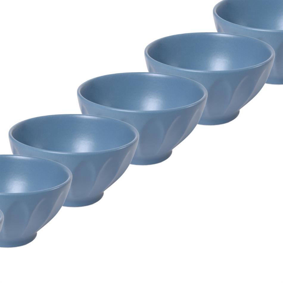 Keraamilised kausid LOHUKE 14cm sinine 20 tk