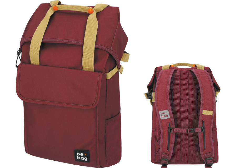 Koolikott-seljakott be.bag 25-30L be.flexible puna..