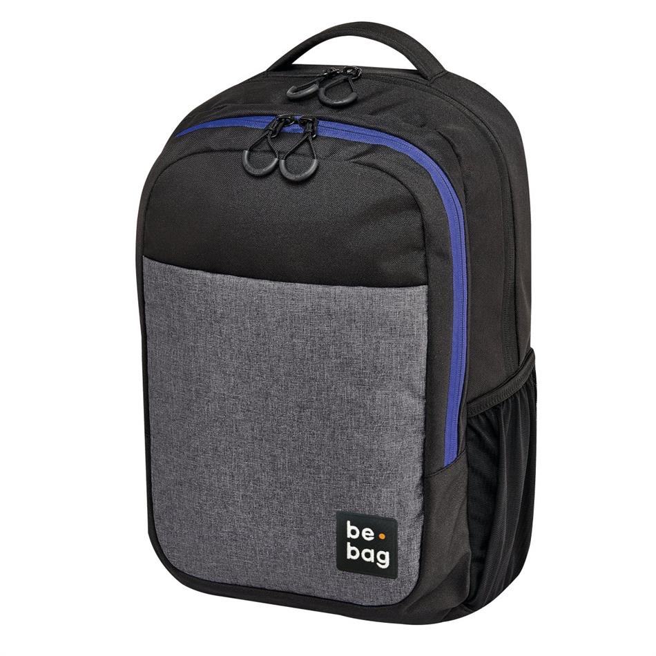 Koolikott-seljakott be.bag Be Clever - hall/must/..