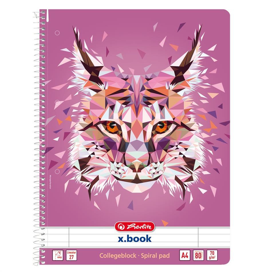 Spiraalkaustik A4/80 jooneline Wild Animals /Ilve..